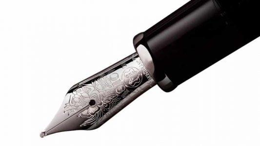 Escritura con pluma